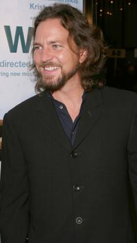 Eddie Vedder at the Los Angeles premiere of