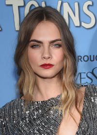 Cara Delevingne at the New York premiere of