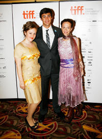 Hallie Switzer, Alexander Gammal and Ingrid Veninger at the Canada premiere of