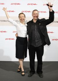 Ingrid Veninger and Simon Reynolds at the photocall of
