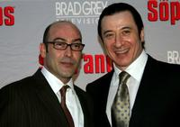 John Ventimiglia and Federico Castelluccio at the New York premiere of