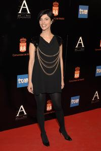 Maribel Verdu at the Goya Awards Nomination Gala.