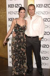 Maribel Verdu and her husband at the Kenzo Summer Party.