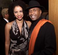 Gloria Reuben and Ben Vereen at the premiere of