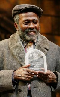 Ben Vereen holds his heroism award that he received from the City of Miami Police Department in Miami.