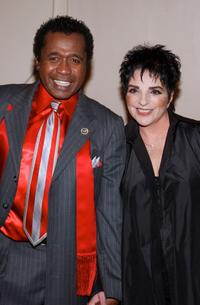 Ben Vereen and Liza Minnelli at the Broadway's Celebrity Benefit for Hurricane Relief.