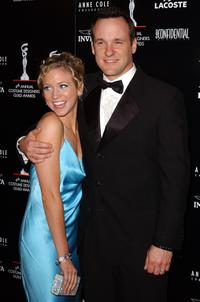 Brittany Snow and Tom Verica at the 6th Annual Costume Guild Awards.
