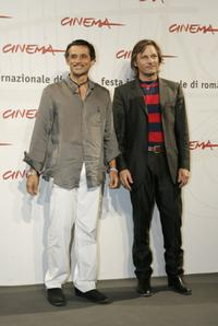 Enrico Lo Verso and Viggo Mortensen at the photocall of
