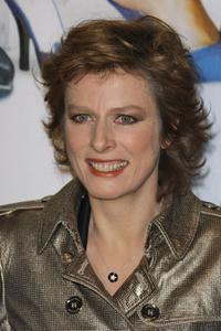 Karin Viard at the Paris premiere of