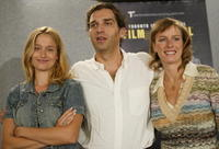 Karin Viard at the promotion of