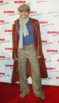 Christina Vidal at the Glamour Magazine's Don't Party event.