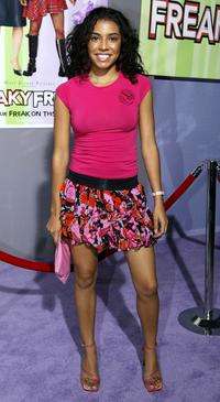 Christina Vidal at the premiere of