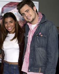 Christina Vidal and David Cohen at the special premiere of