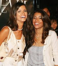 Samanta Noble and Christina Vidal at the premiere of