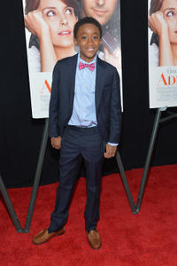 Travaris Meeks-Spears at the New York premiere of