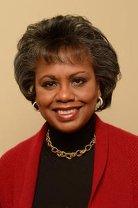 Anita Hill at the portrait session of