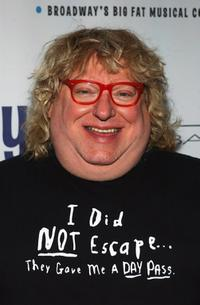 Bruce Vilanch at the opening night after-party of