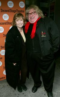Anne Meara and Bruce Vilanch at the opening of