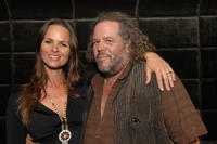 Producer Heather Rae and Mark Boone, Jr. at the after party of the California premiere of