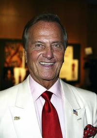 Pat Boone at the Academy of Motion Picture Arts and Sciences centennial tribute to Oscar winning director George Stevens.