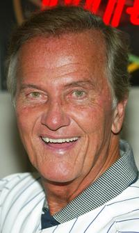 Pat Boone at his 70th birthday.