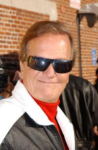 Pat Boone at the benefiting reading of
