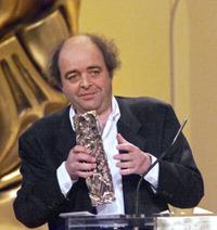 Jacques Villeret at the French Cesar Film Awards.