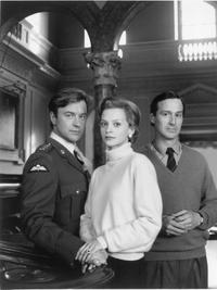 An Undated File Photo of Actor Christopher Villiers, Actress Julie Cox and Actor Christopher Bowen.