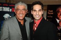 Frank Vincent and writer Steven Prigge at the celebration for Vincent's new book