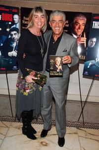 Frank Vincent and his wife Katherine at the celebration for Vincent's new book