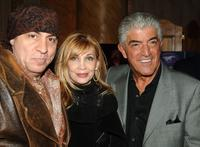 Frank Vincent, Steve Van Zandt, and his wife Maureen Van Zandt at the celebration for Vincent's new book