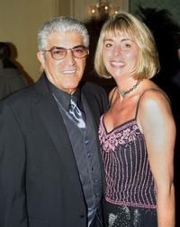 Frank Vincent and his wife Kathy at the Sarasota Film Festival.
