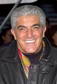Frank Vincent at the panel discussion of the film