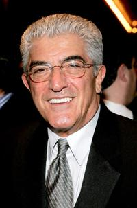 Frank Vincent at the play opening night of