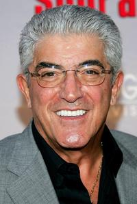 Frank Vincent at the premiere of