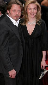 Charley Boorman and his wife Olivia at the Galaxy British Book Awards.
