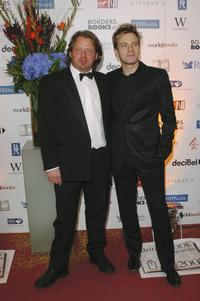 Charley Boorman and Ewan McGregor at the annual British Book Awards (known as the Nibbies).