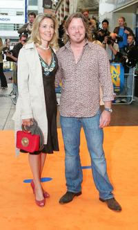 Charley Boorman and Guest at the world premiere of