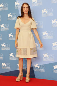 Giselda Volodi at the photocall of