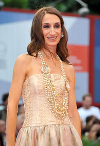 Giselda Volodi at the premiere of
