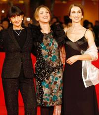 Donatella Maiorca, Isabella Ragonese and Giselda Volodi at the premiere of