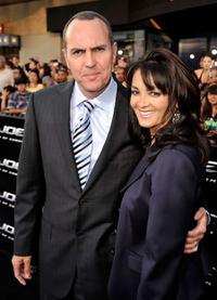 Arnold Vosloo and Guest at the special screening of