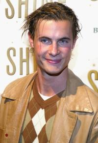 Erik Von Detten at the champagne reception for