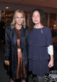 Designer Tory Burch and Tatiana Von Furstenberg at the 2nd Annual Diller-von Furstenberg Awards in New York.