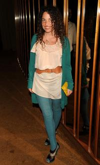 Tatiana Von Furstenberg at the after party of the screening of