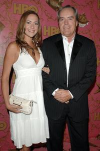 Powers Boothe at the post Emmy party.