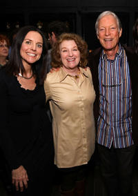 Producer Anne Renton, Rebecca Wackler and Richard Chamberlain at the after party of the premiere of
