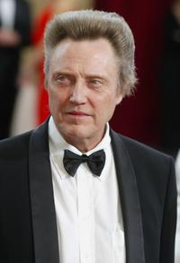 Christopher Walken at the 75th Annual Academy Awards.