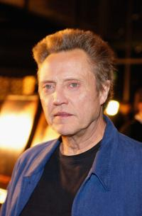 Christopher Walken at the California premiere of