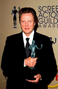 Christopher Walken at the 9th Annual Screen Actors Guild Awards.